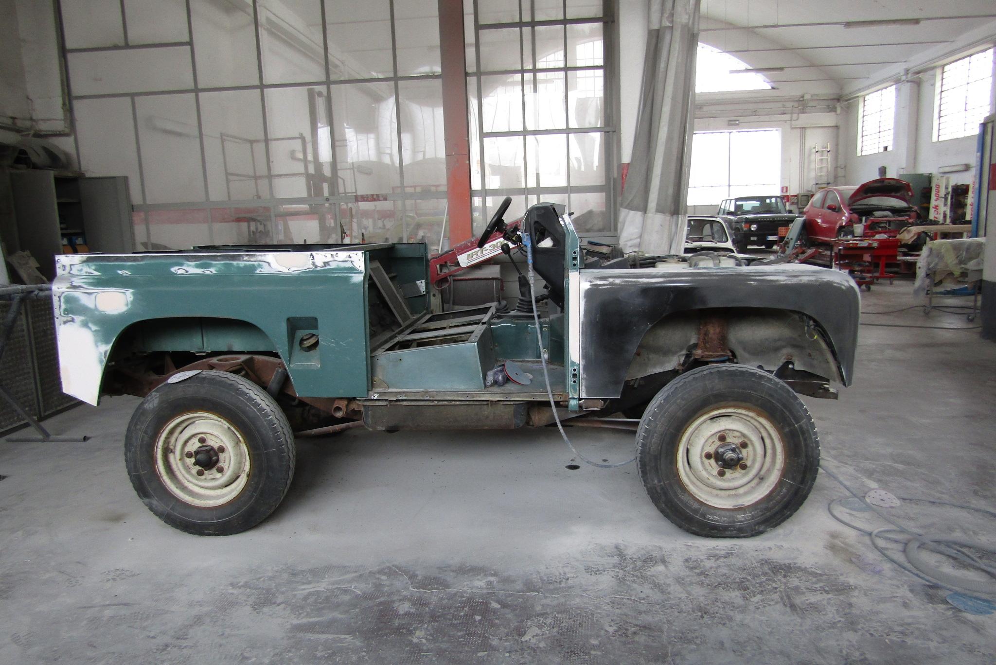 Land rover 90 aspirato